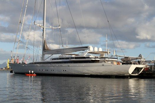 Now that's a big yacht!