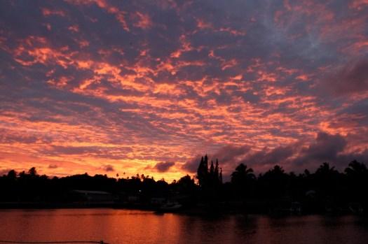 sunrise Aitutaki