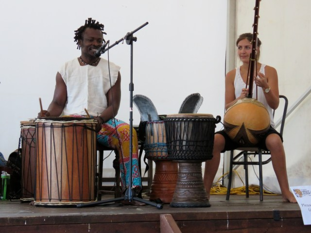 Koffie & friends drumming up a storm