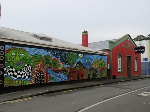 The mural and museum, Kawakawa