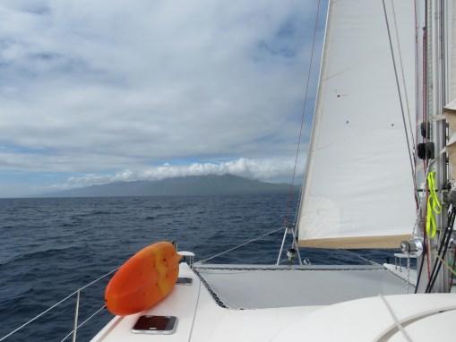 Approaching Taveuni Island