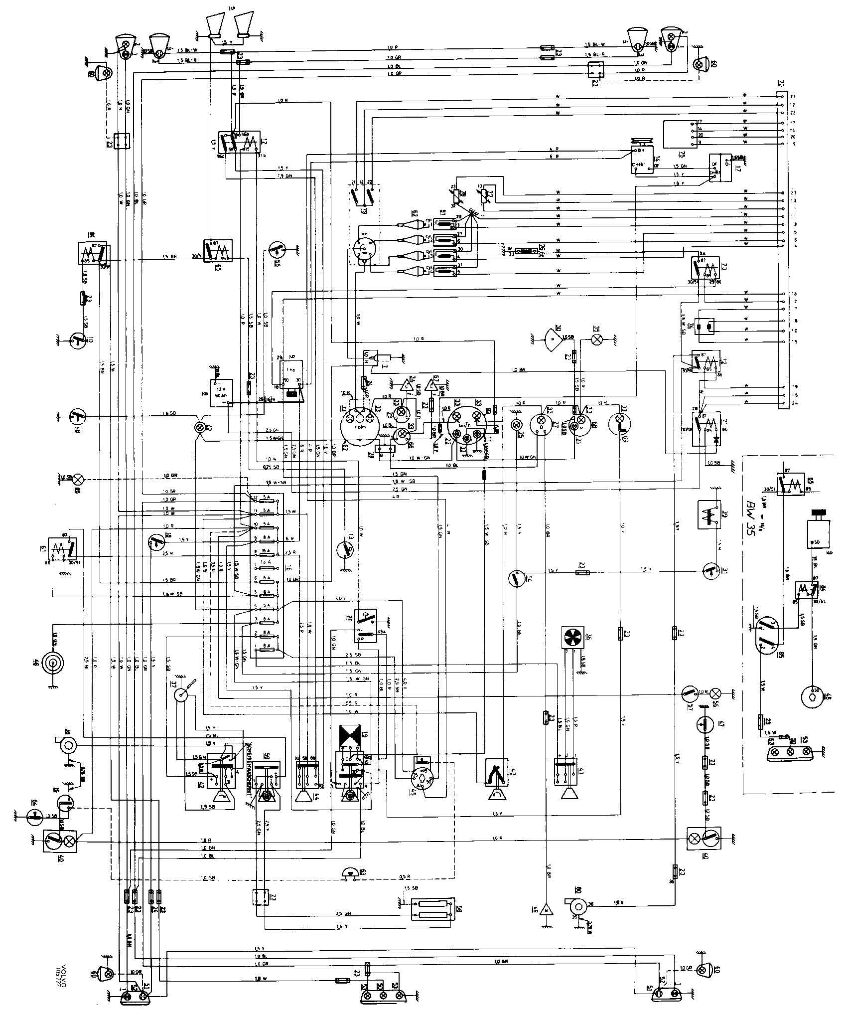 2002 volvo s60 fuse box diagram
