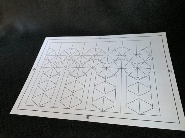 ビークルモデル ファースト・オーダー タイ・ファイター セットのマスキング型紙を作った!