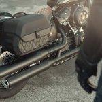 Harley Davidson Side Bag System Softail Fat Bob