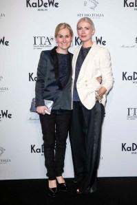 Petra Fladenhofer and Christiane Arp