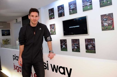 Leo Messi - adidas Shoot
