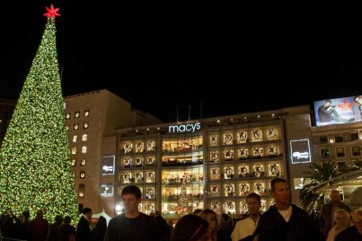 Macys Tree Lighting