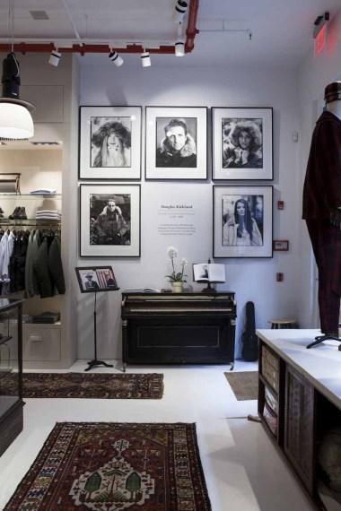 Woolrich Store Soho_Upstairs_Douglas_Kirkland_Portraits