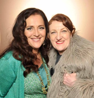 Angela Missoni & Glenda Bailey
