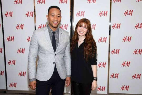 H&M Herald Center Flagship Opening With John Legend