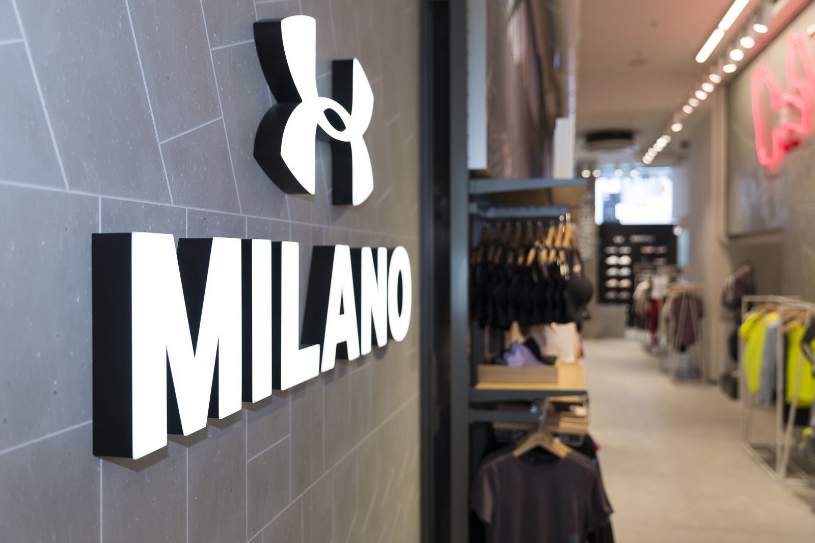 Under Armour Opens Its Second Store In Milan