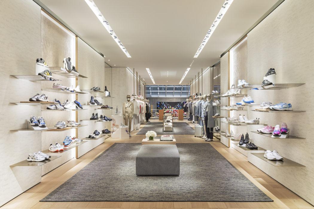 Dior's Men's Boutique