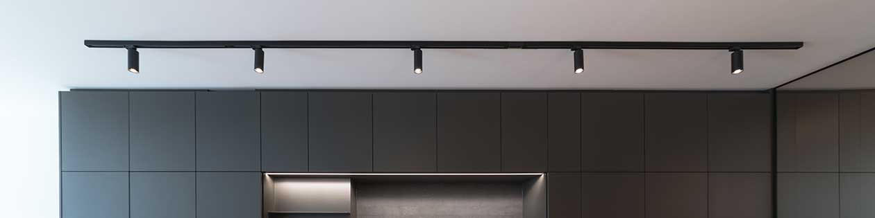 kitchen track lighting shop modern and stylish led lights