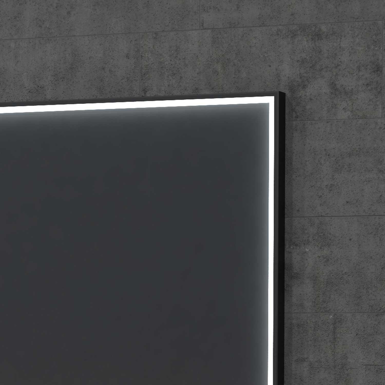 Lumen Light Mirror With Light At The Frame Lampefeber