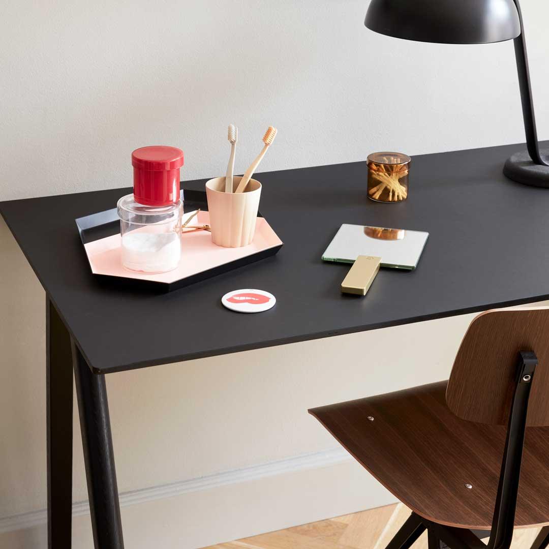 Hay Skrivebord I Copenhague Design Helt I Sort
