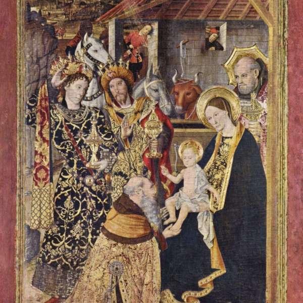Jaime Huguet, Taula del Retaule del Conestable o de l'Epifania (1465)