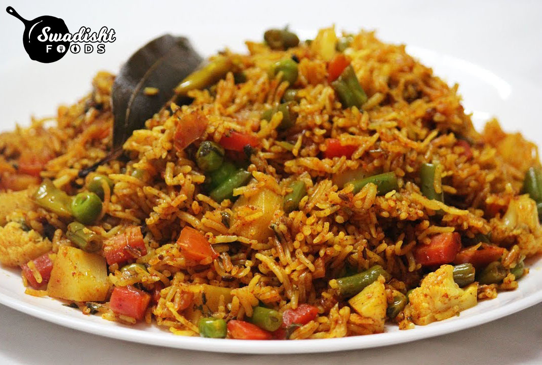Instant Vegetable Pulao