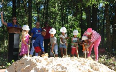 CHILD Center celebrates breaking ground