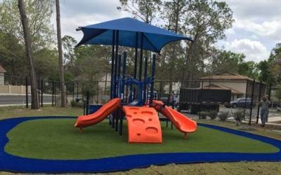 New Playground at The CHILD Center!