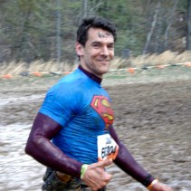 This is after the Electric Eel obstacle, No. 5 of 22. It's early the race, and I'm still somewhat warm and confident.