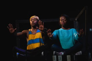 "Manu Kumasi and Kashayna Johnson in ""How We Got On."" (Noe Todorovich)"
