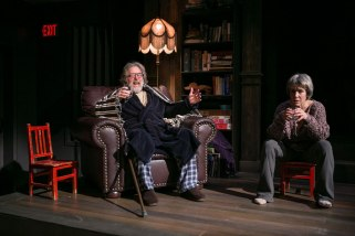 John Lescault & Naomi Jacobson as the Professor and Babs (C. Stanley Photography)