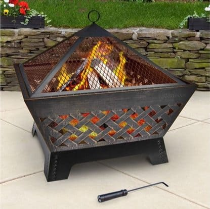 Landmann Barrone Fire Pit with Cover