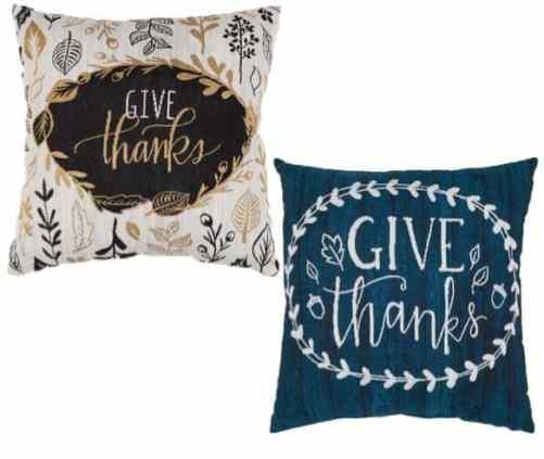 Decorative Fall Throw Pillow Set