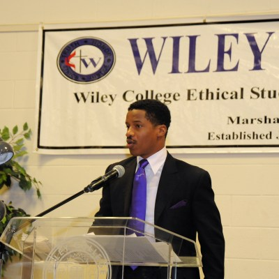 nate-parker-speaking-at-wiley-college-the-home-of-the-great-debaters