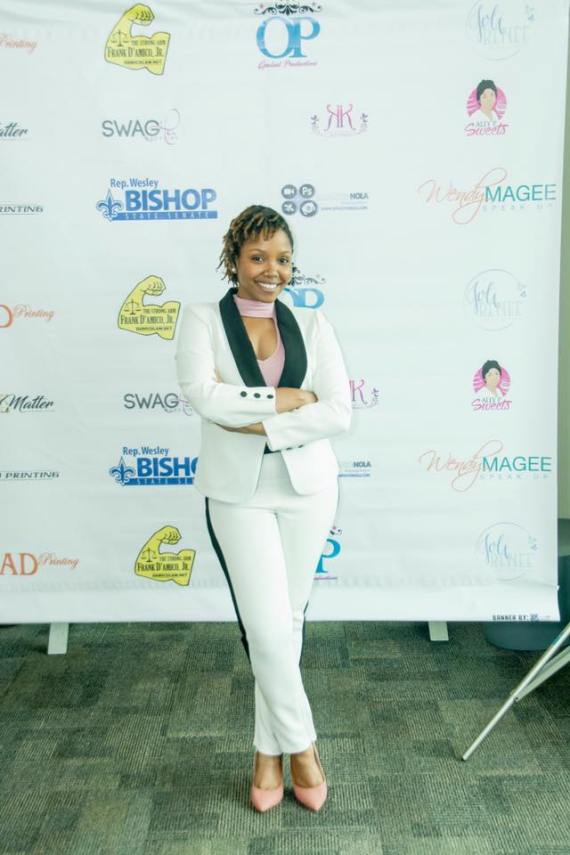 Fancy at Women Mean Business Expo. Styled by Koko.Kouture. Photography by Rick Wells Photos.