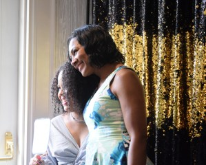 Tekeya and Terri Vaughn