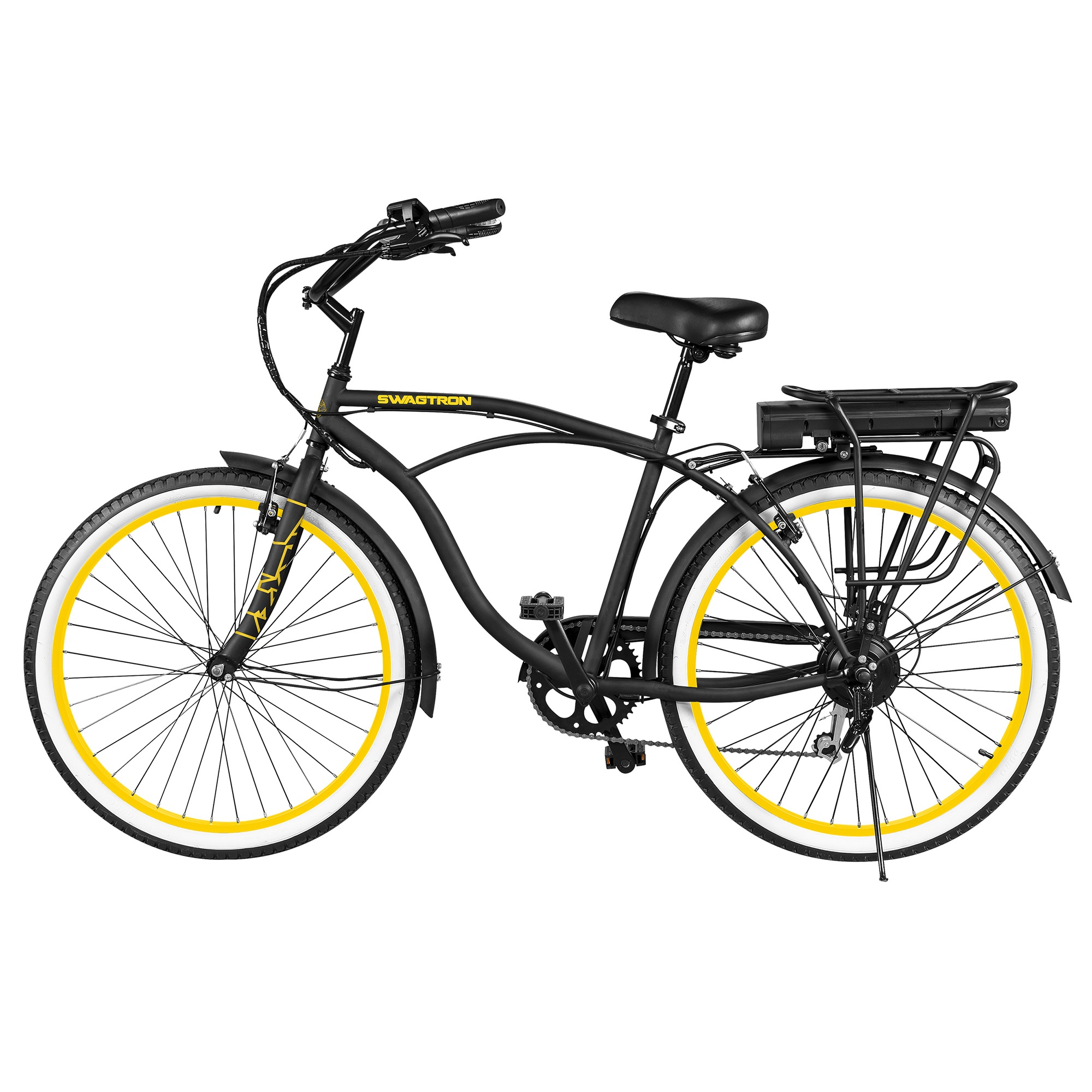 Swagtron Eb11 Electric Bicycle Shimano 7 Speed Removable