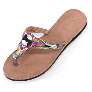 62e5dcdcca61 Hibiscus Sandals in Serengeti Multi » Swahili Coast - Fair Trade Sandals