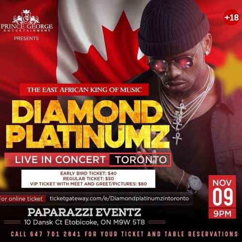 38826860 1909693566002617 5942614826323804160 n Diamond Platnumz in Toronto
