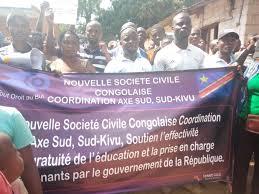 SHIRIKA LA KIRAIA 1 DRC Uvira Mgomo wa kupinga inchi kugawanyika waandaliwa na shirika jipya la kiraia