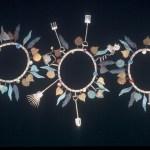 Three garden bracelets