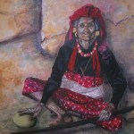 """Oil Painting, 32"""" by 36"""" , private collection."""