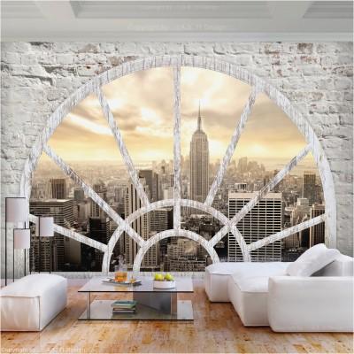 Questa caratteristica la rende ideale per stanze in cui le pareti hanno una maggiore possibilità di macchiarsi, come una cucina, una sala da pranzo o una stanza per bambini. Foa0051a Am1 Carta Da Parati Citta 2500x2500 Wallpaper Teahub Io