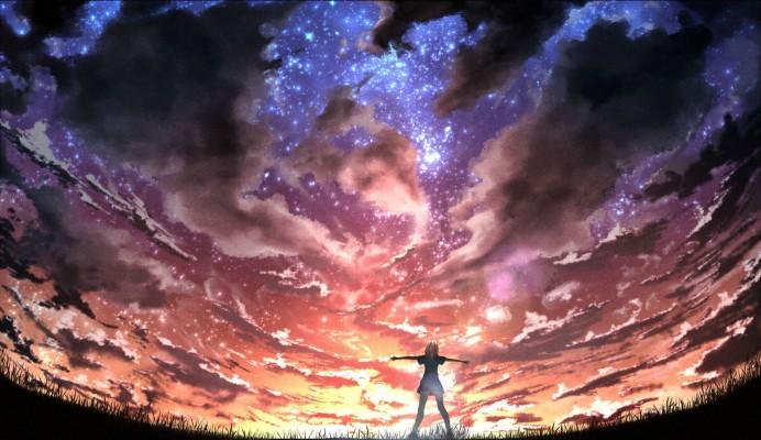 Anime Scenery Wallpaper Anime Wallpaper 4k 2080x1201 Wallpaper Teahub Io