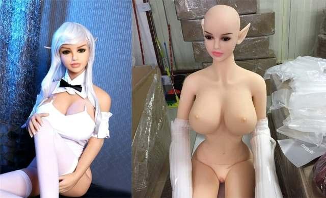 Arisa Realistic Elf Anime Sex Doll