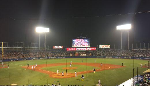 9/18 巨人に敗退も復帰初日バレンティン1号HR!