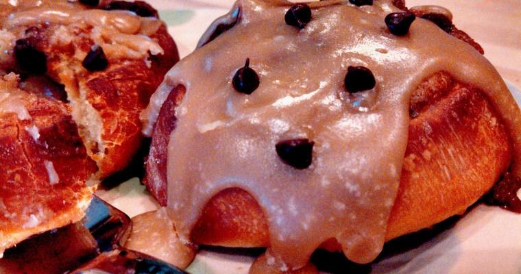 Chocolate Chip Cookie Dough Breakfast Rolls