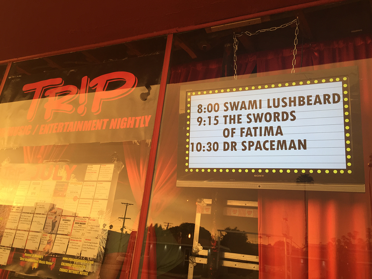Swami lushbeard Live at TR!P