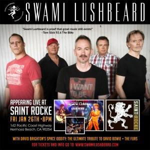 Swami Lushbeard - Saint Rocke - Hermosa Bch