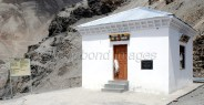 Small temple which houses the mummy