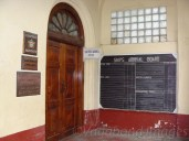 An office which used to monitor the arrival and departure of ships