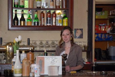 Beautiful bartenders always inspire!!