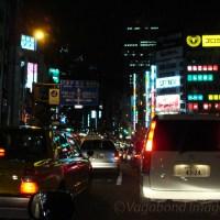 A vagabond night stroll in Tokyo
