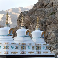 Thiksey is one of the most glorious monasteries of Ladakh