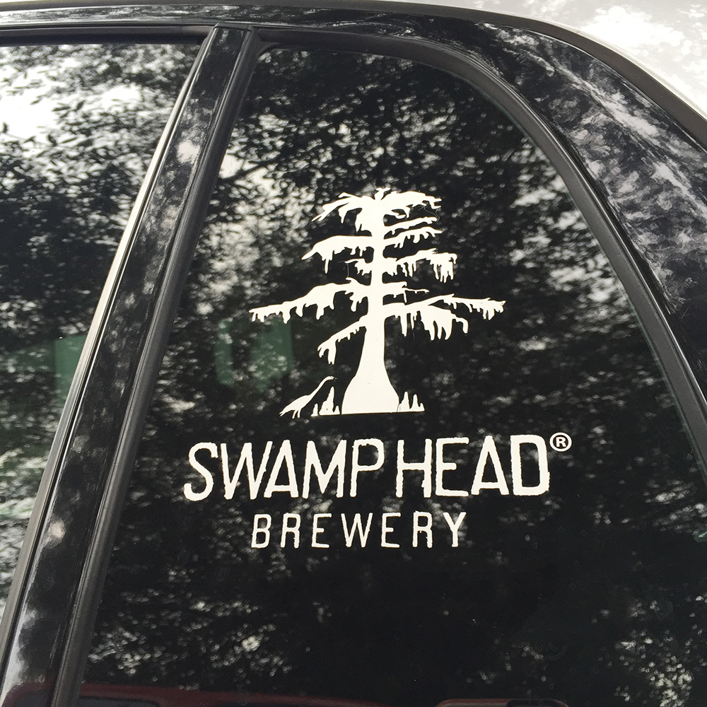 Swamp Head All Weather Sticker Swamp Head Swamp Head